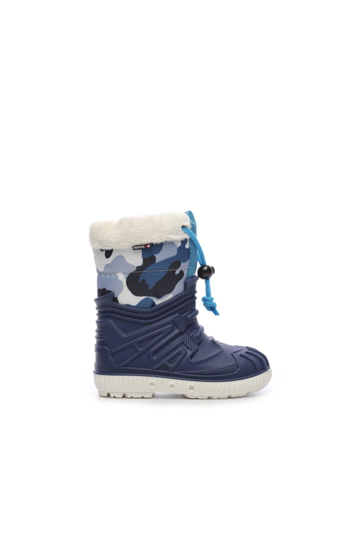 Mavi Çocuk Pvc Yağmur Çizmesi Çizme 104 1633 UNI CZM 24-34
