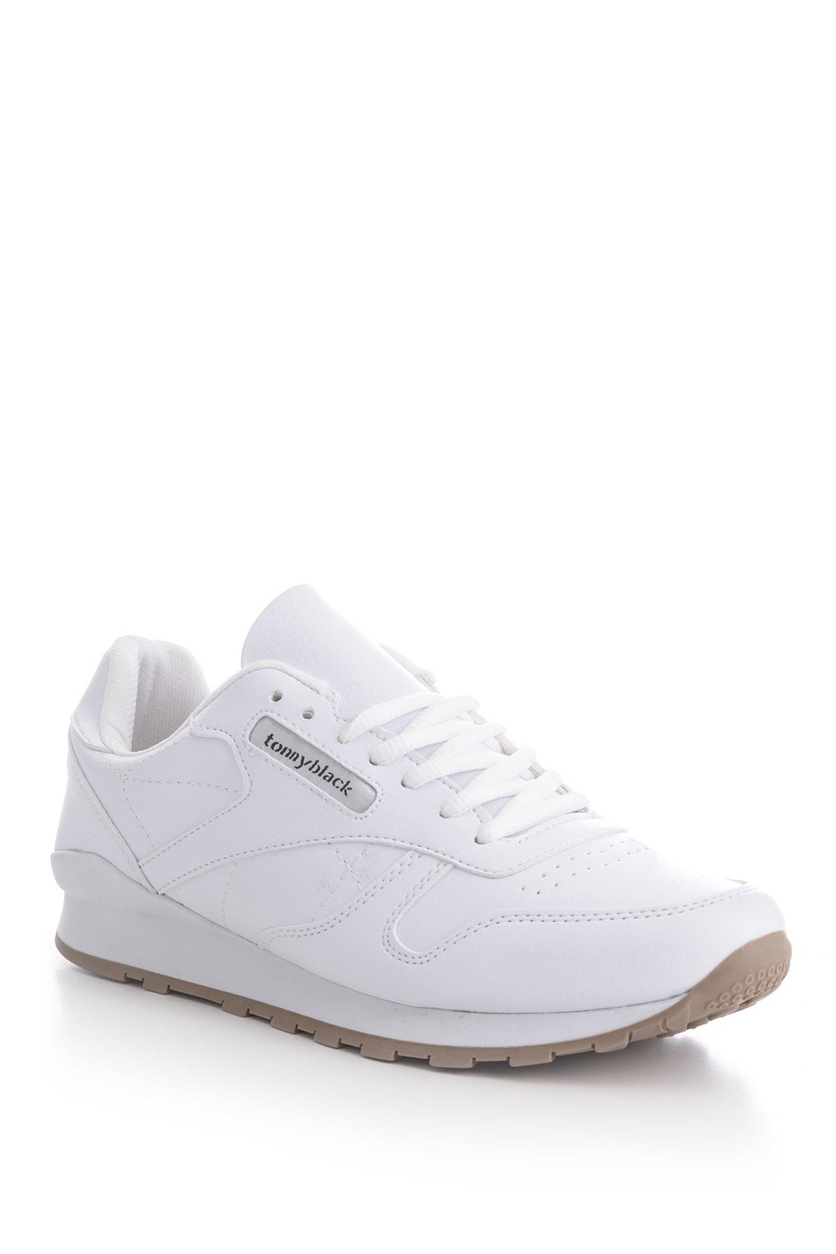 Unısex Spor Ayakkabı Beyaz Cilt V2106 -> 42 -> Beyaz