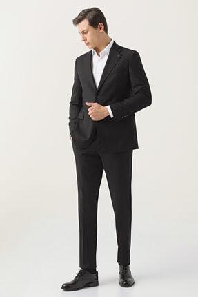 تصویر از Damat Regular Fit Siyah Takım Elbise