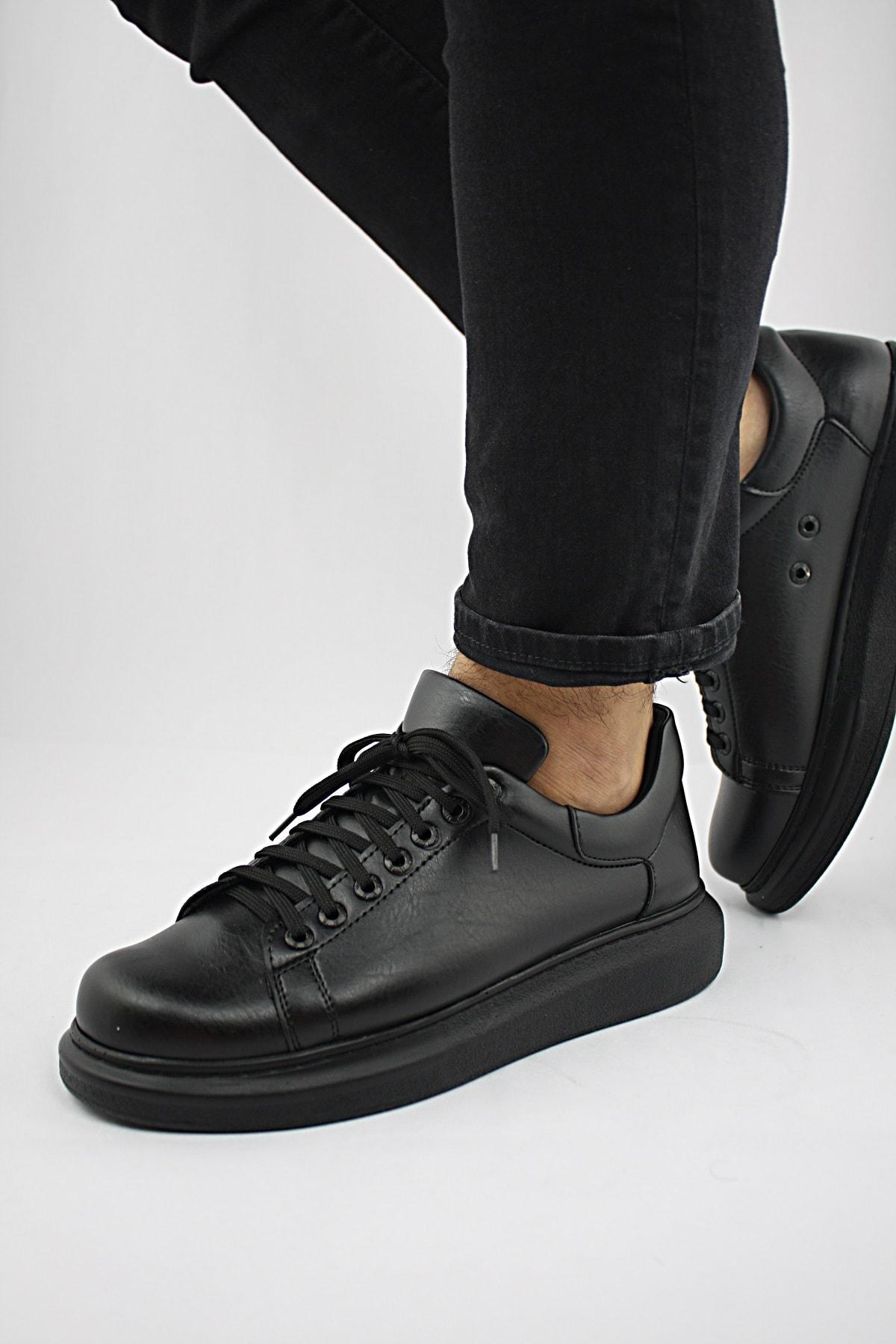 Erkek Spor Günlük Ayakkabı Siyah St Dr022 2