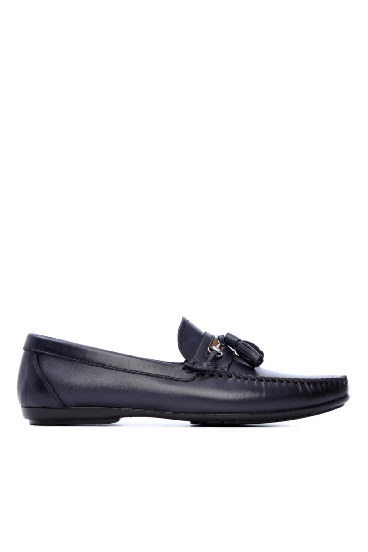 Erkek Derı Loafer Ayakkabı 682 8-996 Erk Ayk Y19
