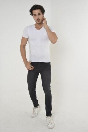 Erkek Slim Battal Büyük Beden Likralı Denim Kot Pantolon (SLİM BATTAL)