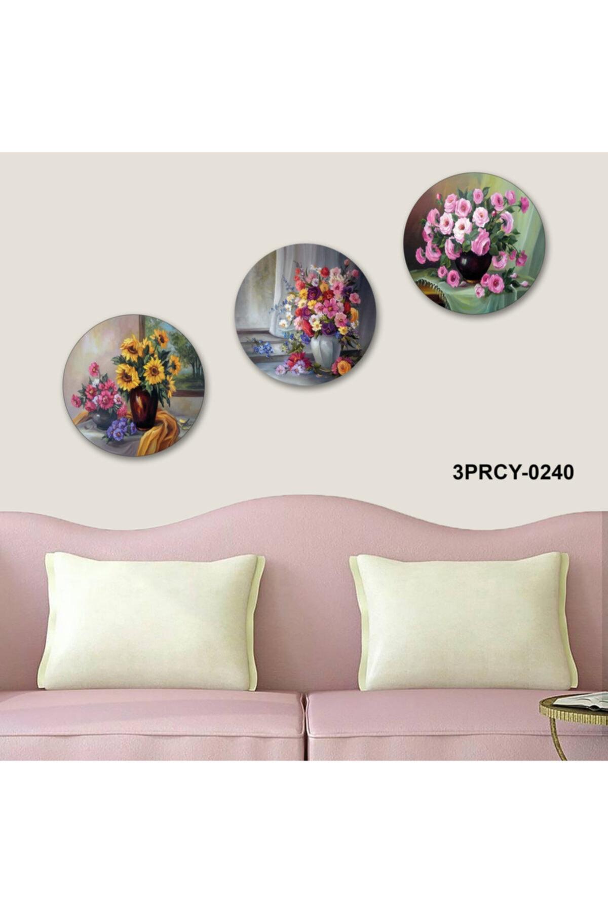 3 Parça Mdf Tablo - 3PRCY-0240