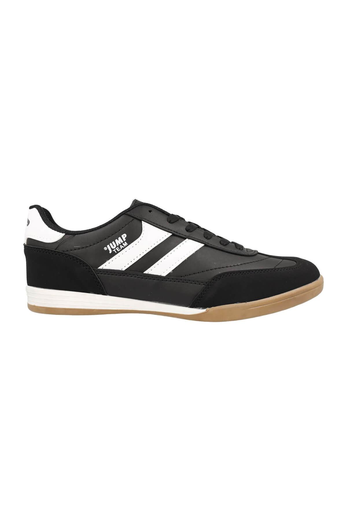 Erkek Salon Futbolu Ayakkabısı 18089 Siyah-beyaz 10s0418089