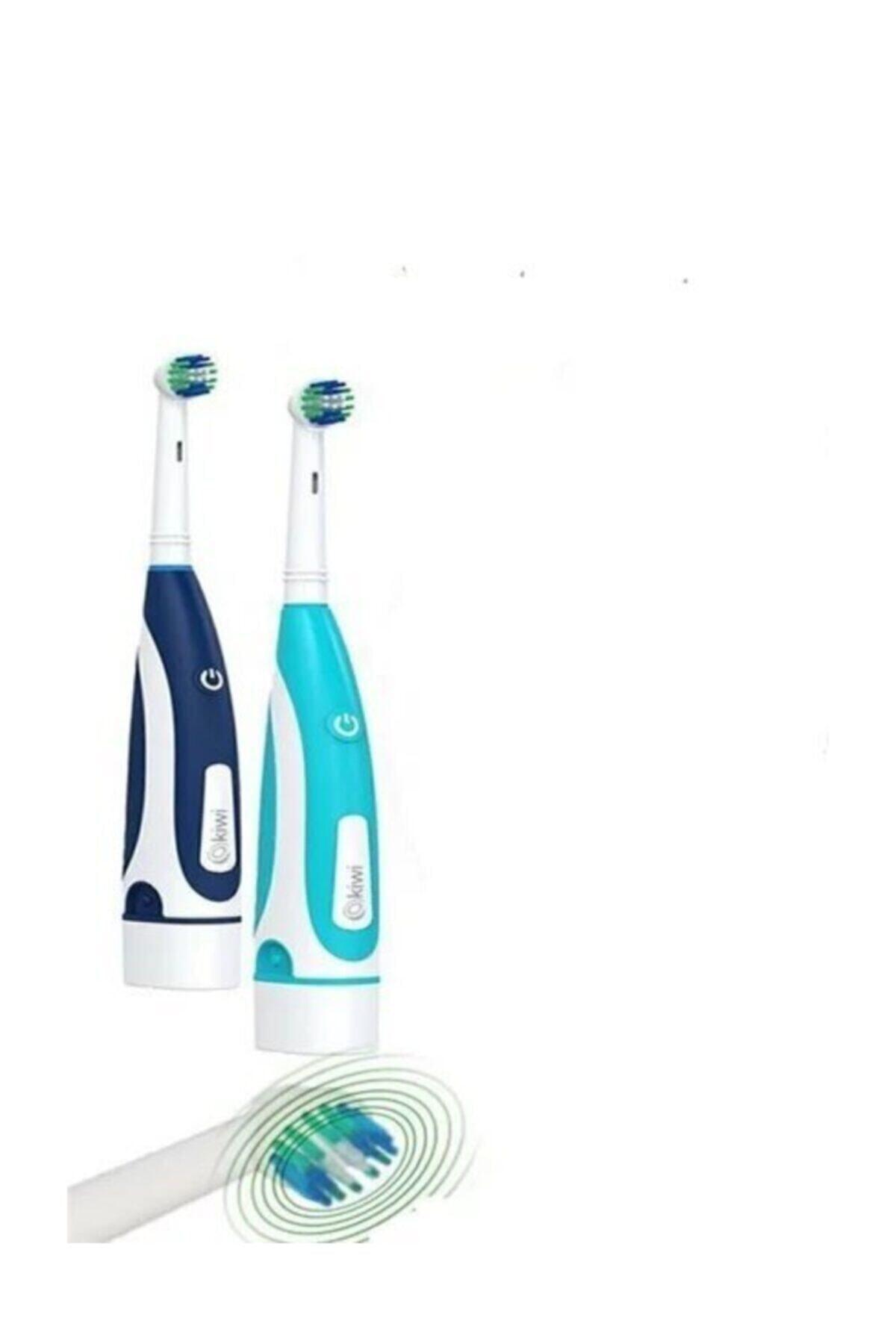 Dönen Başlıklı Pilli Diş Fırçası
