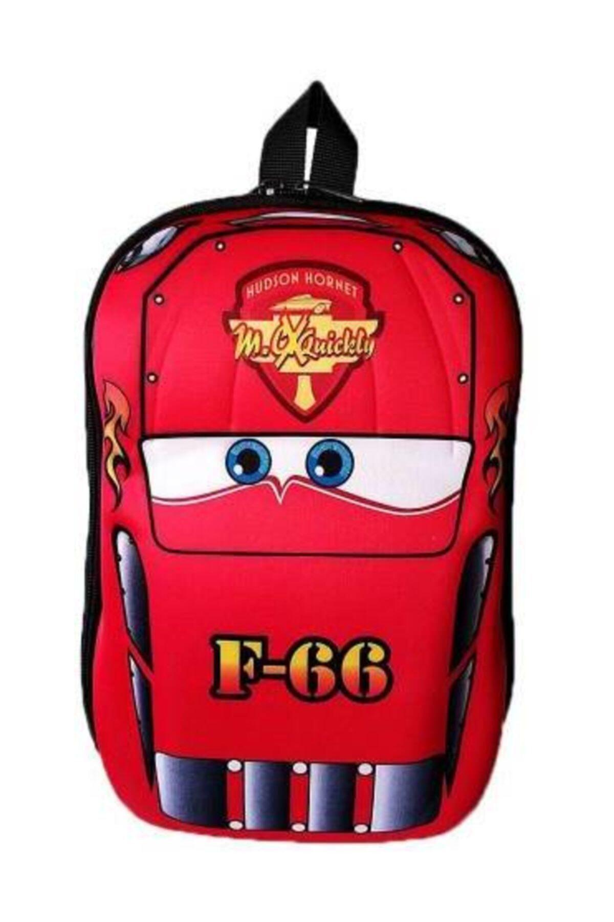 Anaokulu Çocuk Sırt Çantası 3-6 Yaş 5d Kabuk F66 Araba