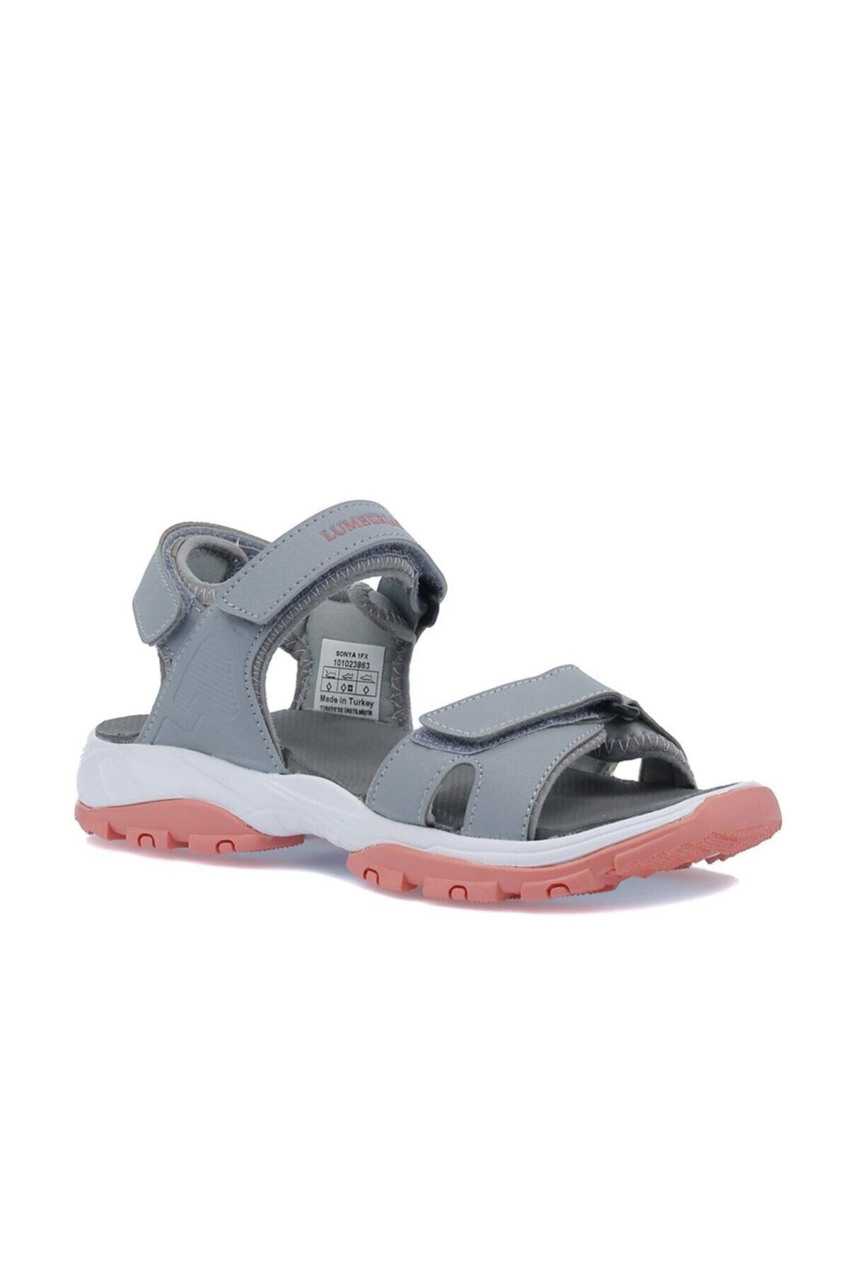 Sonya 1fx Gri Kadın Sandalet