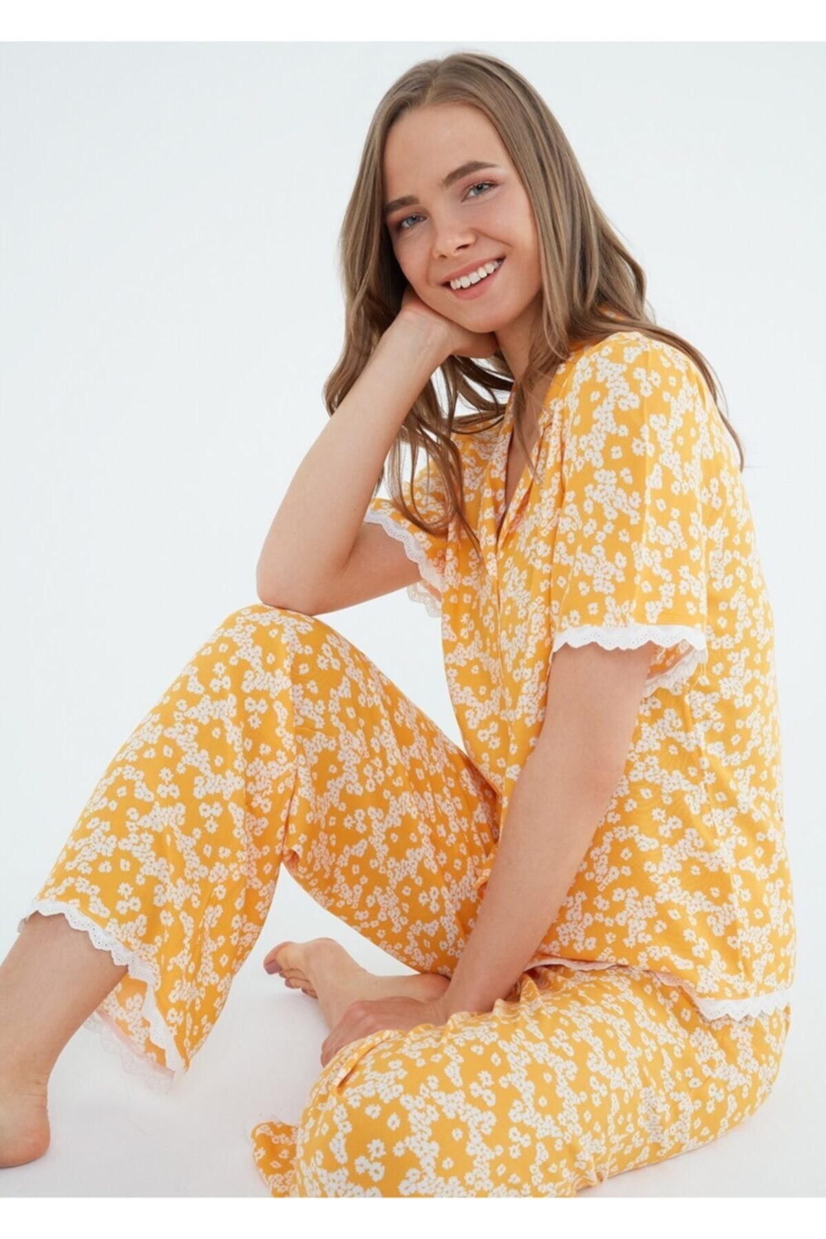 Camellia Maskulen Pijama Takımı