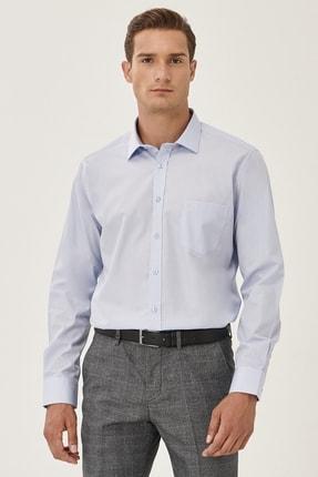 تصویر از Erkek Açık Mavi Regular Fit Klasik Gömlek