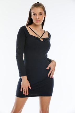 Göğüs Dekolteli Elbise K50606ELB