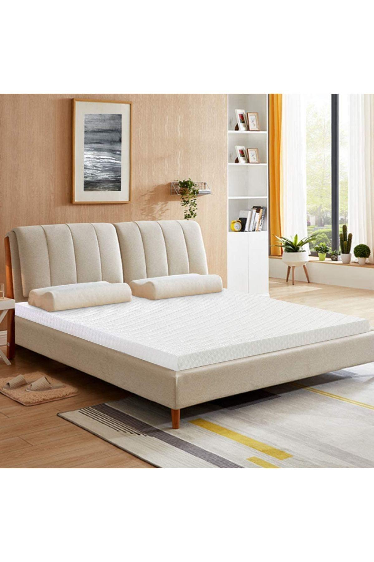 10 Cm Aleovera Hiber Soft Yatak Pedi & Yer Yatağı