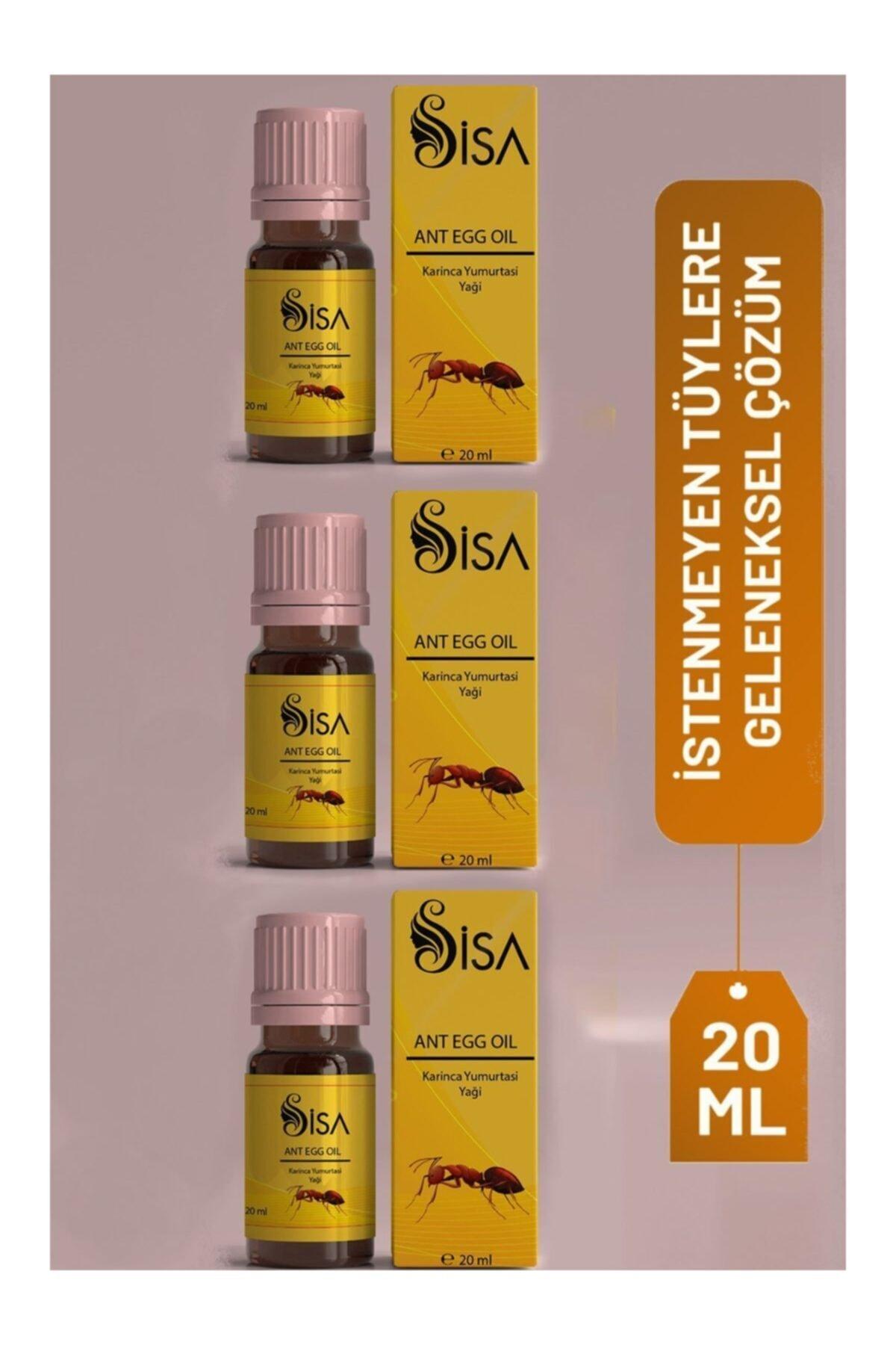 3 Adet Karınca Yumurtası Yağı 20ml/ Egg Oil 20ml (mt-maqya)