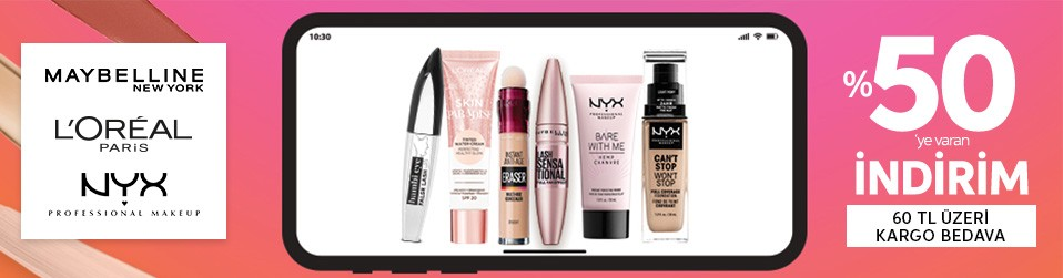 L'oreal Paris & Maybelline New York & NYX Professional Makeup