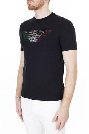 Emporio Armani Regular Fit T Shirt Erkek T Shirt 3H1T71 1J11Z 0999 2