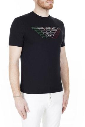 Emporio Armani Regular Fit T Shirt Erkek T Shirt 3H1T71 1J11Z 0999 3