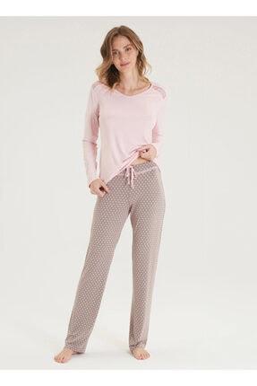 Blackspade Kadın Pijama Takımı 50337 - Pembe 0