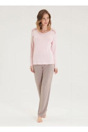 Blackspade Kadın Pijama Takımı 50337 - Pembe 1