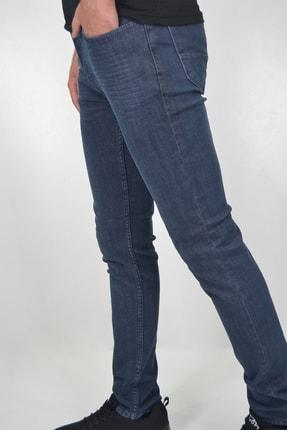 ds danlıspor Erkek Dark Blue Yıpratmasız Krinkıllı Likralı Kot Pantolon 3