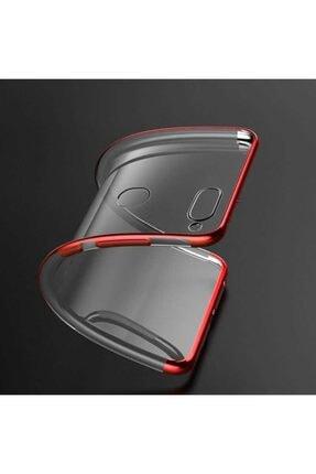 Zore Oppo Ax7 Kılıf Dört Köşeli Lazer Silikon 3