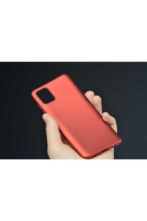 Dijimedia Galaxy A71 Kılıf Zore Premier Silikon Mürdüm 2