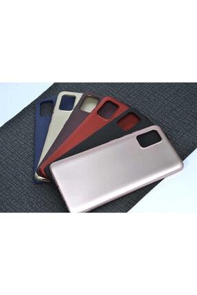 Dijimedia Galaxy A71 Kılıf Zore Premier Silikon Gold 3