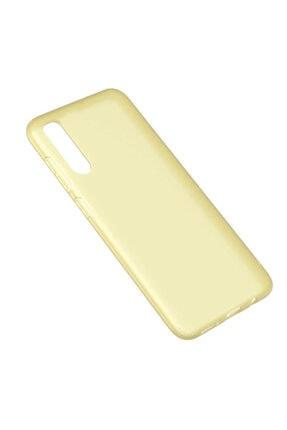 Dijimedia Galaxy A70 Kılıf Zore Odos Silikon Sarı 0