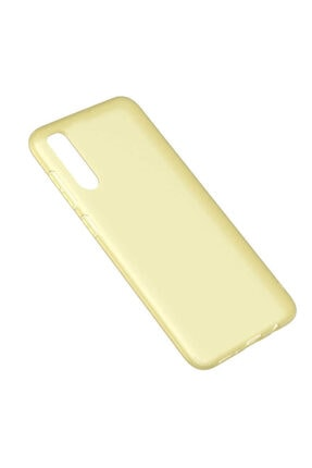 Dijimedia Galaxy A70 Kılıf Zore Odos Silikon Sarı 1