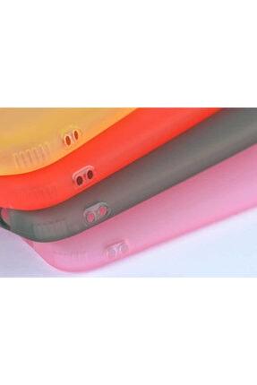 Dijimedia Galaxy A70 Kılıf Zore Odos Silikon Sarı 4