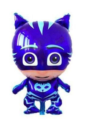 Partini Seç Pija Maskeliler Kedi Çocuk Kertenkele Baykuş Kız Folyo Balonu Seti,pijamaskeliler 3 Lü Set 1