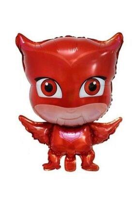 Partini Seç Pija Maskeliler Kedi Çocuk Kertenkele Baykuş Kız Folyo Balonu Seti,pijamaskeliler 3 Lü Set 2