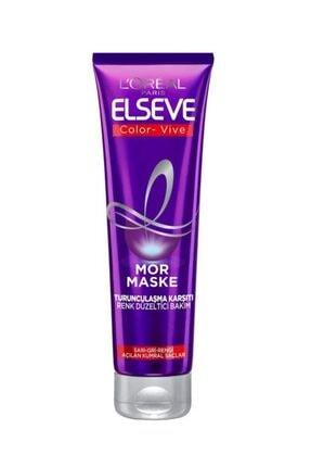Elseve Renk Koruyucu Bakım Şampuan 450 Ml & Turunculaştırma Karşıtı Mor Şampuan & Mor Maske 3
