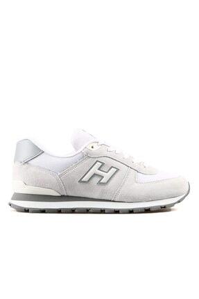 Hammer Jack Erkek Beyaz Bağcıklı Sneaker 0
