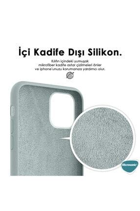Microsonic Apple Iphone 12 Kılıf Groovy Soft Turkuaz 2