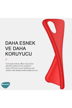 Microsonic Apple Iphone 12 Kılıf Groovy Soft Turkuaz 3