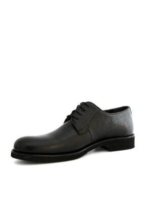 Beta Shoes Erkek Siyah Re Beta Deri Ayakkabı 3