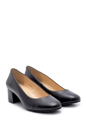Derimod Kadın Siyah  Kalın Topuklu Ayakkabı 2