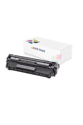 inkwell Hp Laserjet 1012 - Q2612a Uyumlu 2000 Syf Siyah Muadil Toner 0