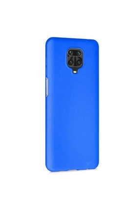 Telefon Aksesuarları Redmi Note 9s - Note 9 Pro Max Mavi Yumuşak Silikon Kılıf 1