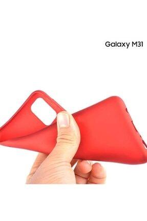 Zengin Çarşım Samsung Galaxy M31 Yumuşak Silikon Kılıf Siyah 2