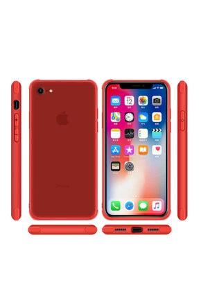 Dijimedia Apple Iphone 7 Kılıf Zore Odyo Silikon Kırmızı 2