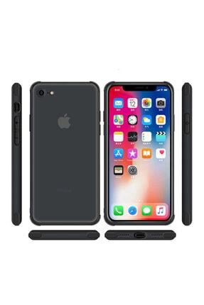 Dijimedia Apple Iphone 7 Kılıf Zore Odyo Silikon Kırmızı 4