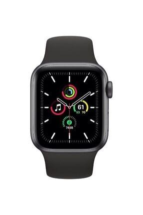 Apple Watch Se Gps 40 Mm Uzay Grisi Alüminyum Kasa Ve Siyah Spor Kordon 1