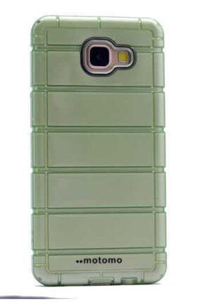 Dijimedia Galaxy A3 2016 Kılıf Zore Çizgili Motomo Kapak Yeşil 0