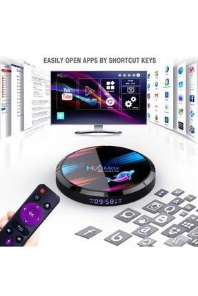 Wechip H96 Max X3 Tv Box Akıllı Tv Kutusu Android 9.0 8k Medya Oynatıcı Amlogic S905x3 4 Gb/ 32gb Netflix 4