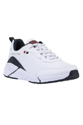 Jump Erkek Beyaz Mevsimlik Ortopedik Spor Ayakkabı 0