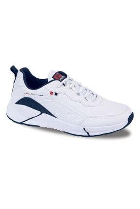 Jump Erkek Beyaz Mevsimlik Ortopedik Spor Ayakkabı 1