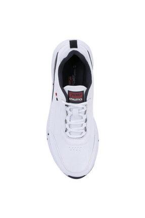 Jump Erkek Beyaz Mevsimlik Ortopedik Spor Ayakkabı 2