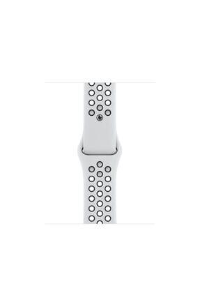 Apple Watch Nike Se Gps 40 Mm Gümüş Rengi Alüminyum Kasa Ve Saf Platin/siyah Nike Spor Kordon 2