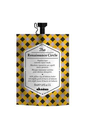 Davines The Renaissance Circle Yıpranmış Saçlar Için Onarıcı Bakım Maskesi 50 ml 8004608258230 0
