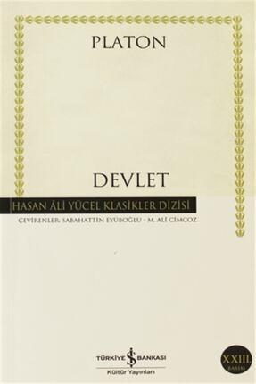 TÜRKİYE İŞ BANKASI KÜLTÜR YAYINLARI Devlet - Hasan Ali Yücel Klasikleri - Platon (eflatun) 0